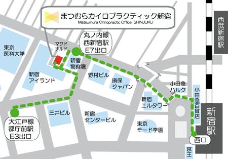 最寄駅から当院までのマップ
