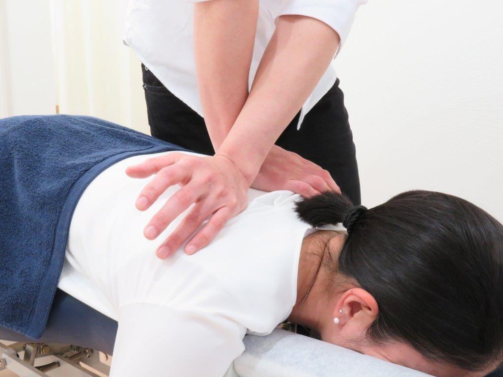 胸椎への施術