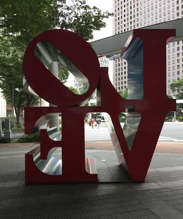 西新宿 愛情の裏返し